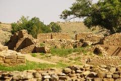 Ruines aztèques Photo stock
