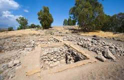 Ruines in Bethsaida Stock Photos