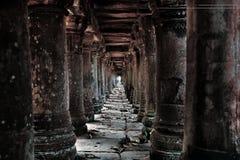 Ruines cambodgiennes de temple Image libre de droits