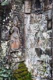 Ruines cambodgiennes de temple Images libres de droits