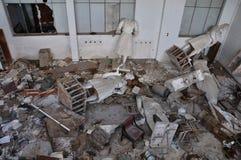 Ruines cassées de statues Photo libre de droits