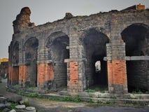 Ruines à Catane Photos stock