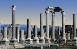 Ruines chez Perge, Turquie images libres de droits