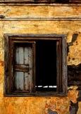 Ruines construisant la fenêtre Photo libre de droits