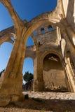 Ruines d'église de Santa Eulalia Images libres de droits