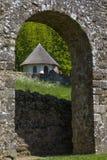Ruines d'abbaye de bataille dans le Sussex photo stock