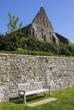 Ruines d'abbaye de bataille dans le Sussex photo libre de droits
