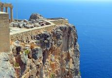 Ruines d'Acropole Photographie stock