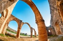 Ruines d'Agios Sozomenos Image libre de droits