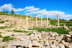 Ruines d'Amathus Photo stock