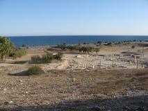 Ruines d'Amathus, Chypre, Limassol Photos stock