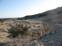 Ruines d'Amathus, Chypre, Limassol Image stock