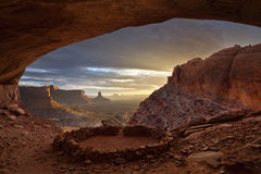 Ruines d'Anasazi. Photos stock