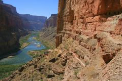 Ruines d'Anasazi en gorge grande Photos stock