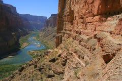 Ruines d'Anasazi en gorge grande photos stock