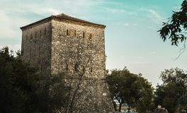 Ruines d'Ancien de Butrint Albanie photo stock
