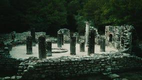 Ruines d'Ancien de Butrint Albanie photographie stock