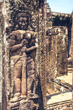 Ruines d'Angkor Thom au Cambodge Photos stock