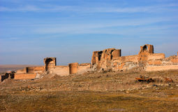 Ruines d'Ani Photos stock