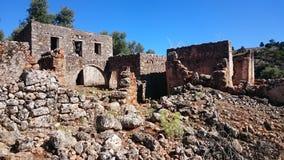 Ruines d'Aradena image libre de droits