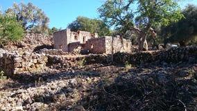 Ruines 2 d'Aradena photographie stock