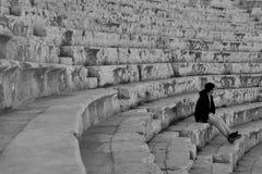 Ruines d'architecture avec une négligence de sujet photo stock