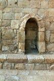 Ruines d'Avdat - ville antique dans le désert du Néguev Image libre de droits