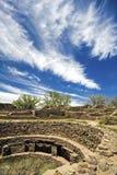 Ruines d'Aztèque au Mexique Images libres de droits