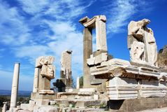 ruines d'ephesus Photo libre de droits
