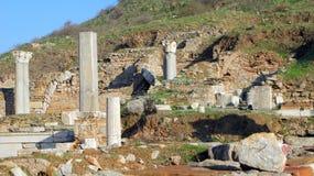 Ruines d'Ephesus Photos libres de droits