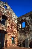 Ruines d'église de rue Paul Photos libres de droits