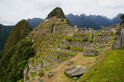 Ruines d'Inca de Machu Picchu Image libre de droits