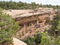 Ruines d'Indien de Mesa Verde Photos stock