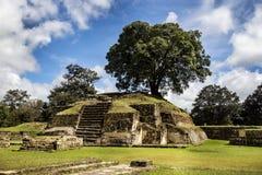 Ruines d'Iximche Photographie stock libre de droits