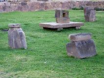 Ruines d'Ollantaytambo Photo libre de droits