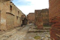 Ruines d'Ostia Antica photo libre de droits