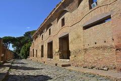 Ruines d'Ostia Antica Photo stock