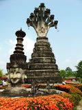 Ruines d'un dieu chez Salakeawku image libre de droits
