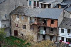 Ruines d'un logement image libre de droits