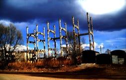 Ruines d'un stokehold Photographie stock libre de droits