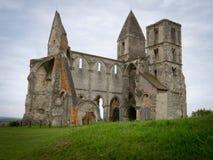 Ruines d'une église antique Images libres de droits