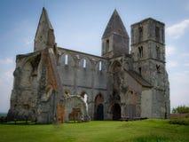 Ruines d'une église antique Photographie stock