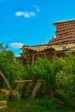 Ruines d'une grange Photographie stock libre de droits