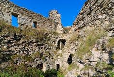 Ruines d'une vieille forteresse Image libre de droits