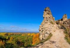 Ruines d'une vieille forteresse Photos libres de droits