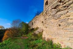 Ruines d'une vieille forteresse Photo libre de droits