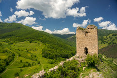 Ruines d'une vieille forteresse Images stock
