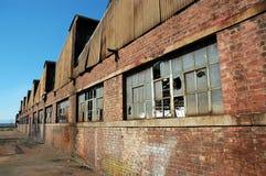 Ruines d'usine Photo libre de droits