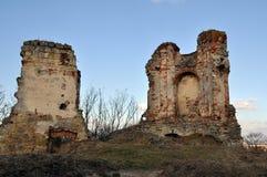 Ruines dans la lumière de soirée Image libre de droits