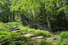 Ruines dans la Madame Sherri Forest Photo libre de droits